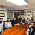Se reúne Elvia Montes con el titular de la CEA Querétaro