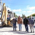 Elvia Montes inicia obra de rehabilitación de redes de agua potable en Villa Progreso