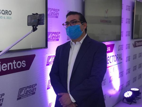 AUDIO-Reporta Martín Arango Incidencias Durante Sesión De IEEQ